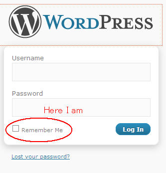 Yup, that's it (WordPress)